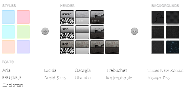 Combinable Styles